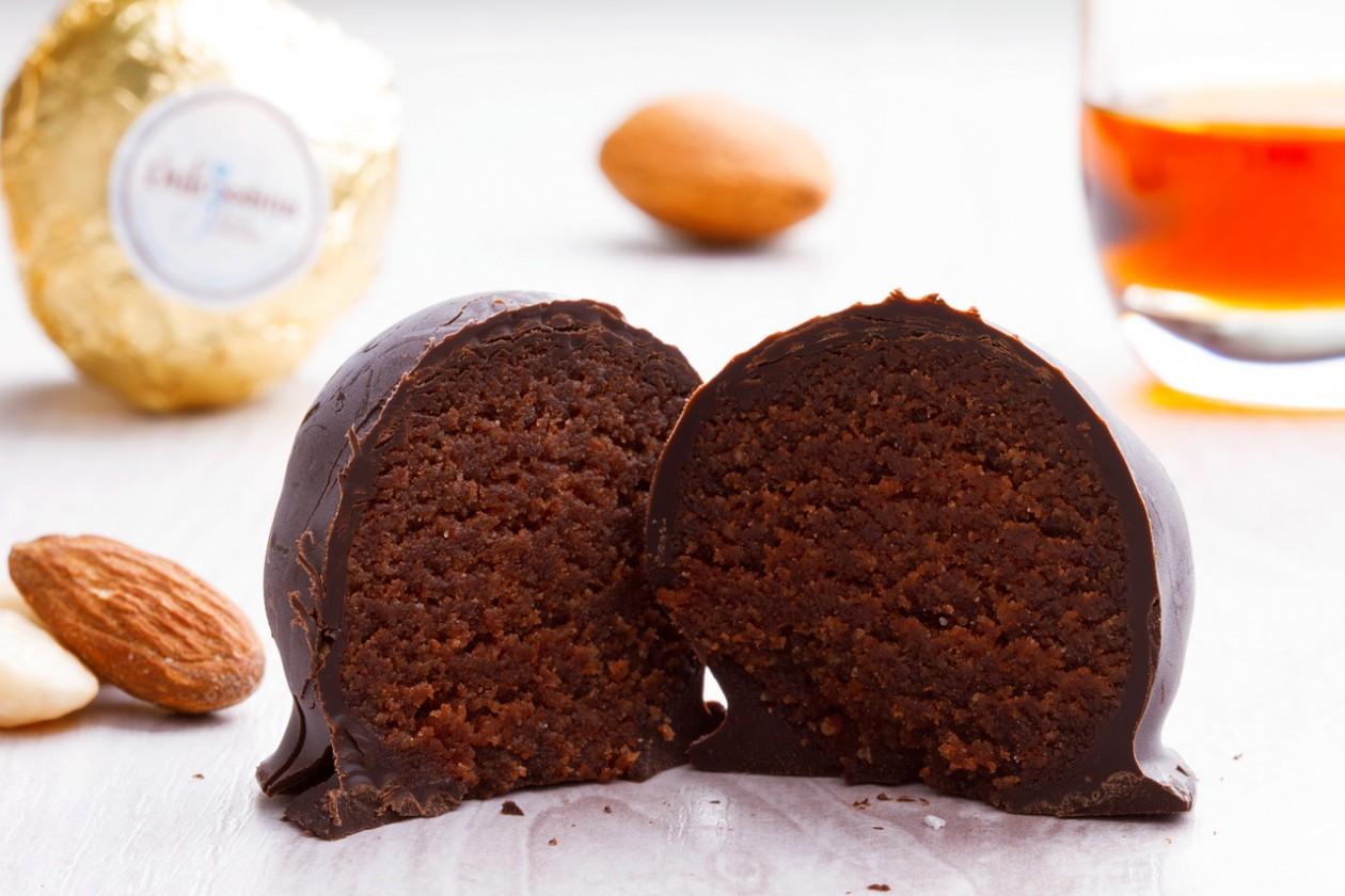 Cioccolatino di Mandorla al Rum